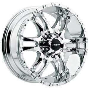 Ballistic Wizard 17x9 Chrome Wheel / Rim 6x5.5 with a 0mm Offset and a