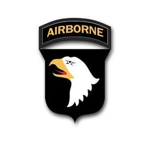 US Army 101st Airborne Division Patch Decal Sticker 3.8 6