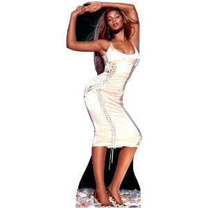 Beyonce (Gold Dress) Life Size Standup Poster: Home