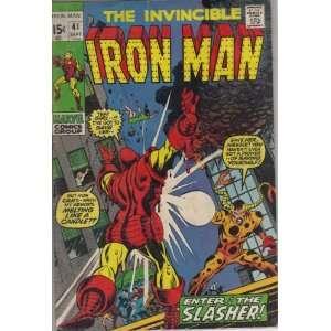 Iron Man #41 Comic Book