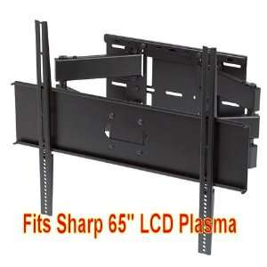 Installers Choice Full Motion Dual Arm Wall Mount Bracket for Sharp LC