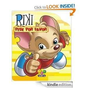 Riki pede por favor. (Riki aprende boas maneiras) (Portuguese Edition