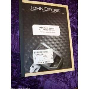 John Deere 8.1L Diesel Engines OEM OEM Owners Manual John
