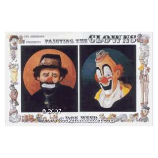 Sue Scheewe presents Painting the Clowns: Don Weed: Books