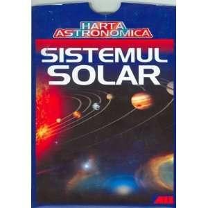 Harta astronomica   Sistemul solar (9789736846953