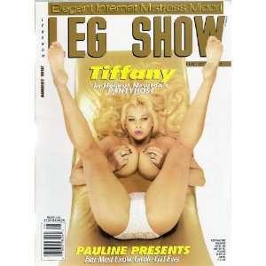 LEG SHOW AUGUST 1997: LEG SHOW MAGAZINE: Books