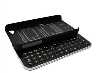 Wireless Bluetooth Sliding Keyboard + Rubberized hard shell case for