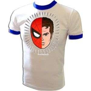 Mego Spiderman vtg Marvel 70s superman batman T Shirt