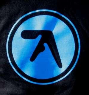 aphex twin splatter logo t shirt
