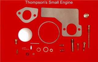 Briggs & Stratton 299852, 394698 Carburetor Rebuild Kit. Fits 6 12