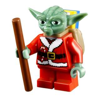 LEGO Star Wars Yoda Santa Minifigure advent 2011 7958 Christmas