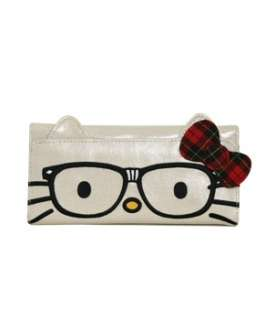Wallet HELLO KITTY NEW Sanrio Kitty Cat Nerd Face Cosplay Licensed