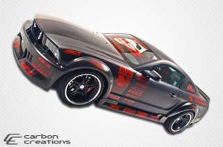 Ford Mustang 05 09 Body Kit Carbon Fiber Hot Wheels