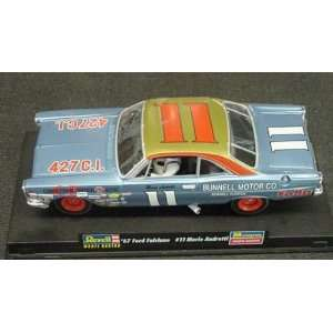 67 Ford Fairlane #11 Mario Andretti Slot Car (Slot Cars) Toys & Games