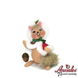 Annalee 6 Mrs Santa Chipmunk Figurine Home & Kitchen