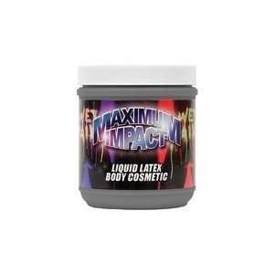 Liquid Latex Body Paint   16 oz black
