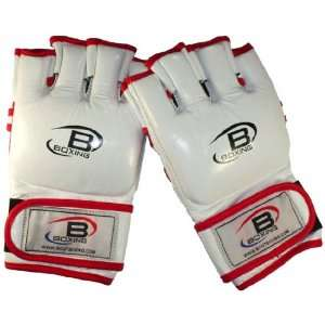 Bout Boxing   Pro MMA Fight Gloves (Leather) Sports