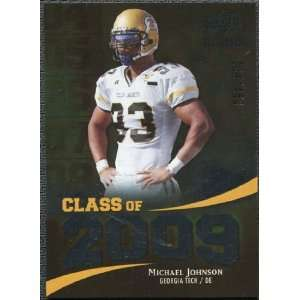 Class of 2009 Silver #JO Michael Johnson /450 Sports Collectibles