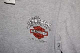 HARLEY DAVIDSON YUMA PRISON RUN HD T SHIRT YOUTH LARGE