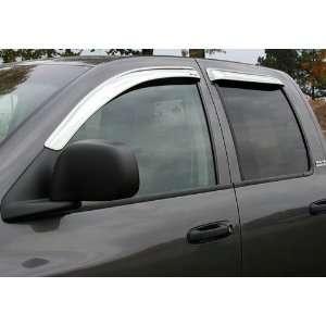 Stampede Products 6222 8 Stampede Dodge Ram Chrome Vent Visors   Vent