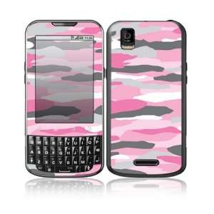 Pink Camo Design Decorative Skin Cover Decal Sticker for