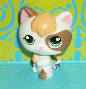 Littlest Pet Shop~#1461 CALICO BABY KITTEN Green Eyes Kitty~H133 LPS