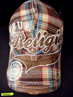 NWT True Religion Applique Logo Vintage Cap HAT UNISEX