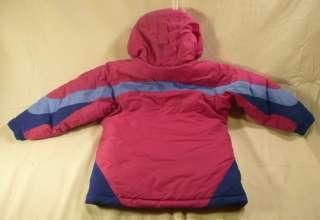 Girls Youth 6/6X Columbia Winter Ski Jacket Coat   EUC   SMOKE FREE