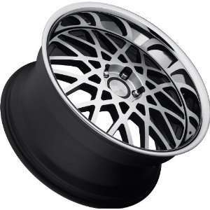 Concept One 771 RS 22 Matte Black Wheel with Machined Lip Finish (20x8