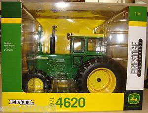 ERTL Prestige Collection 1791 4620 John Deere Tractor 1/16 Die Cast