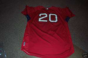 Red Sox Kevin Youkilis Game Used Shirt Steiner Coa MLB
