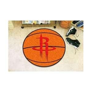 Houston Rockets NBA Basketball Mat 29 round Sports