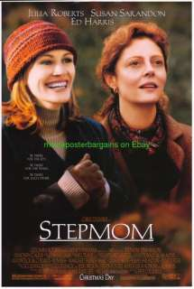 STEPMOM MOVIE POSTER DS 27x40 ORIGINAL JULIA ROBERTS