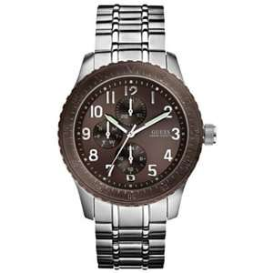 Guess Mens U13604G1 Silver Stainless Steel Quartz Watch