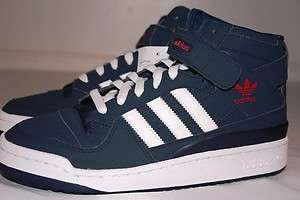NWT ADIDAS ORIGINALS MENS RETRO FORUM MID SNEAKERS SHOES SIZE 8
