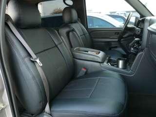 2007 2012 Chevy Silverado Crew Cab Leather Seat Covers Clazzio