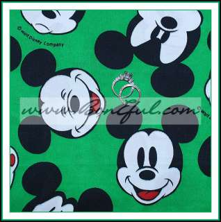 BOOAK Fabric Mickey Mouse Face *DISNEY Minnie Vacation Boutique GIRL