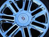 2011 Cadillac Escalade Platinum Factory 22 Chrome Wheels Tires OEM