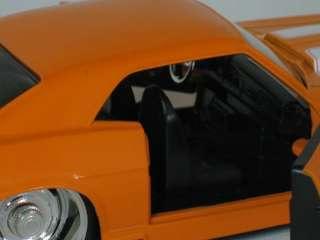 Jada Toys 132 Diecast 1969 Orange Chevy Camaro Concept