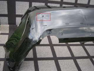 TOYOTA CAMRY SE REAR BUMPER COVER OEM 2008 2009 2010