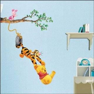 Winnie the Pooh & Tigger Peel & Stick Kids Room Wall Art Sticker