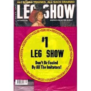 Leg Show Magazine September 2002 Covergirl Lucy Lvette: LEG SHOW