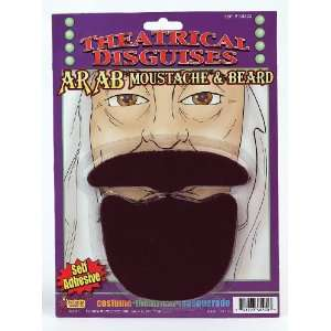 Arab Sheik Beard & Mustache Costume Accessory [Toy]: Everything Else