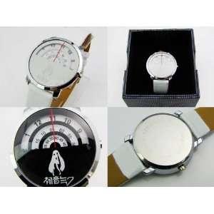 Vocaloid Miku Hatsune Round Wrist Watch