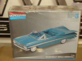 MONOGRAM Plastic Model Kit 2437 1959 CHEVY IMPALA CONVERT 1/25 Factory