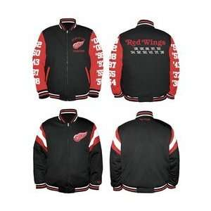 Red Wings Commemorative Reversible Jacket   Detroit Red Wings Medium