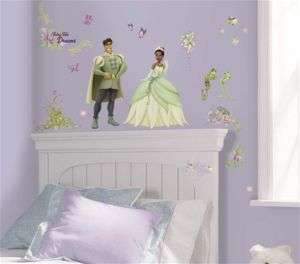 Princess and the Frog Wall Stickers Decal Mural Tiana