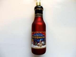 INGE GLAS GLOGG GLüHWEIN GERMAN BLOWN GLASS CHRISTMAS ORNAMENT