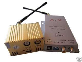 2Ghz 3W CCTV Wireless AV Transmitter Receiver @3000mW