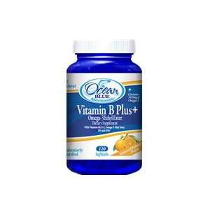 com Ocean blue vitamin B plus omega 3 ethyl ester dietary supplement